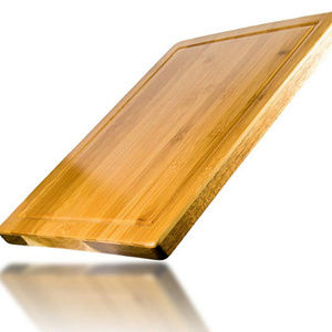 Other - Large bamboo cutting board with juice groove